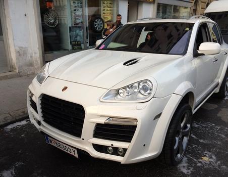 Porsche Cayenne Magnum Techart
